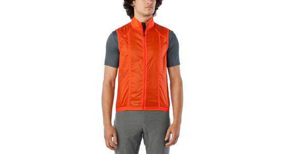 Giro Wind Cykelvest orange